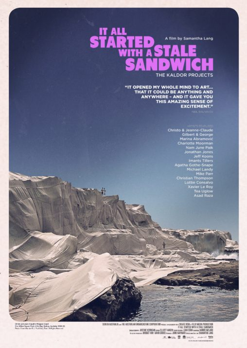 """It All Started With A Stale Sandwich"" poster"